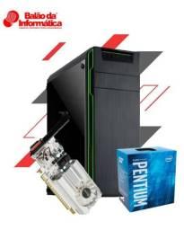 Pc Gamer Moba GT 1030-2Gb Intel G4560 Memória 4Gb Promoção Balão da Informática-Maués