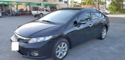 Honda Civic EXS 1.8 Automático Flex com Teto Solar - TOP de linha - 2013