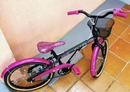 Bicicleta Caloi Barbie Doll Estado Impecável
