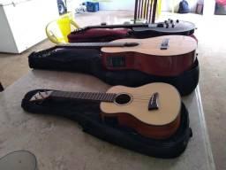 Vende se cavaquinho violão e guitarra.tudo novo