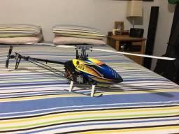 Helicóptero Contole Remoto Align T-REX 450 Sport 3D Flybarless. Semi-novo