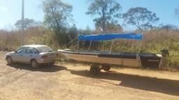 Barco de alumínio de 6metros - 2000