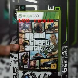 Jogo grand theft auto v xbox 360