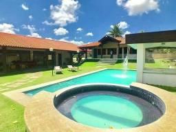 Casa na Lagoa do Catu (Porteira fechada) / 430m² / 04 suítes / 10 vagas - CA0815