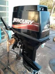 Motor 40 hp mercury 2016 - 2016