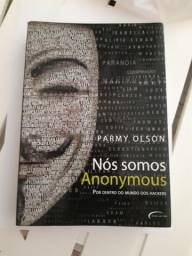 Livro Nós Somos Anonymous