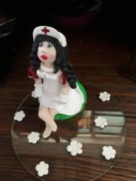 Enfermeira enfeite