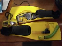 Nadadeira e snorkel USDivers