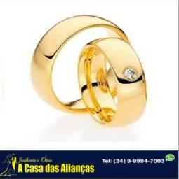 Alianças ouro 18 kilates - Promoção _ Ligue e agende !!!
