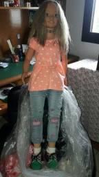 Boneca Barbara da Jesmar com um metro de altura a mesma é do ano de 1996