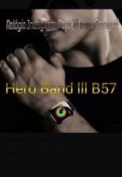 Relógio Inteligente Smartwatch Hero Bandlll Conhecido também como B57
