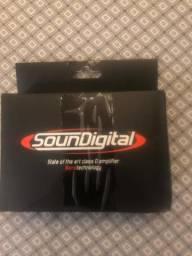 Modulo amplificador sd 600.1d soundigital comprar usado  Brasília