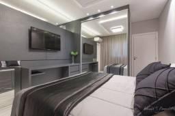Luxuoso apartamento 3 suites completo meia praia itapema