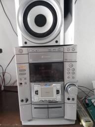 Mini system sony com defeito