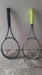 Raquetes usadas em bom estado de conservação