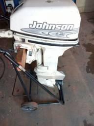 Vendo motor 15 jhonson ano 94