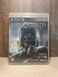 Jogo Dishonored Ps3 Lacrado Em Perfeito Estado Sem Avarias