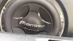 Sub de 12 Pioneer e crossover ps
