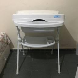 Vendo banheira com trocador e bebê conforto (leia a descrição)