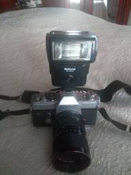Máquina fotográfica profissional antiga