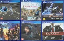 Jogos PS4 - Lacrados e Seminovos
