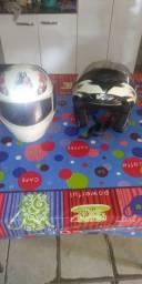 Vende-se 2 capacete usado