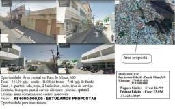 Casa - Area, Centro Para de Minas, MG