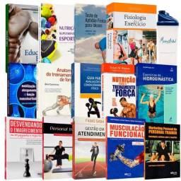Coleção de Livros Educação Física - Bacharel - novo na caixa