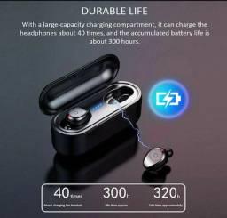 Fone De Ouvido F9 Tws Bluetooth 5.0 Sem Fio À Prova De Água