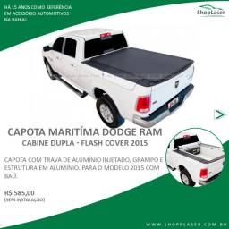Capota Marítima Dodge Ram Cabine Dupla (Flash Cover - 2015)
