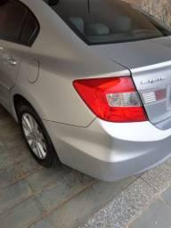 Honda Civic Prata 2015 LXS 1.8 Automático