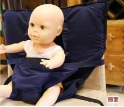 Assento de saco para bebê (fraldão)