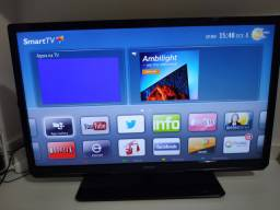 TV 32? Philips LED 32PFL5007G/78 Full HD com Smart TV com Entradas HDMI e USB e Conversor