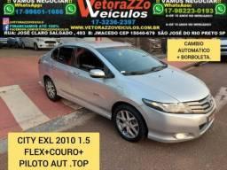 Honda city 2010 1.5 exl 16v flex 4p automÁtico