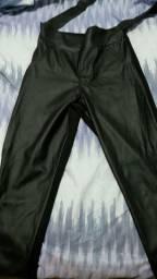 Calça legging couro