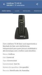 Telef. s/ fio c/ identif. de chamadas