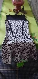 Vestido de oncinha 30,00$