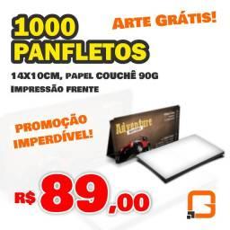 Panfletos | 1.000un - R$89,00