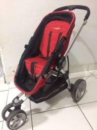 Vendo Carrinho de bebe + Bebe Conforto + Adaptador