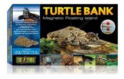 Turtle Bank M - Plataforma para Aquários com Tartarugas - 30x18cm