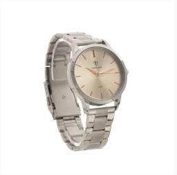 Relógio Feminino Tuguir Analógico - Prata