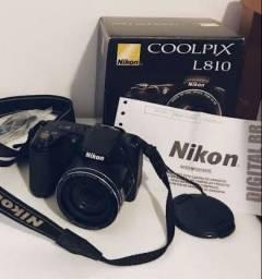 Câmera L810 Nikon