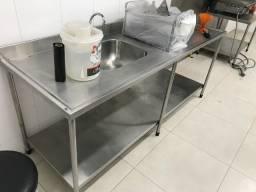 Equipamentos em Inox para Cafeteria/Lanchonete