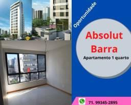 Barra Avenida, Absolut, excelente apartamento, 1 quarto, 43m², 01 vaga, infraestrutura
