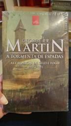 Livro A tormenta de espadas