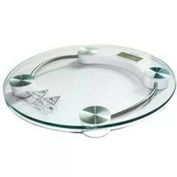 Balança Digital Com Vidro Temperado p/Pesar Pessoa até 180 kg - Nova na Caixa