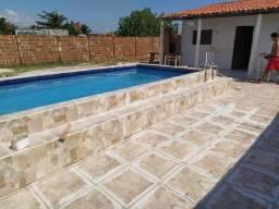 Casa de praia na redinha nova com piscina