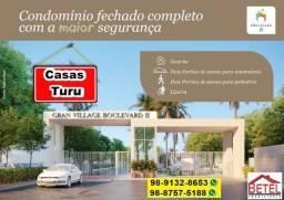 Boulevard 2 casas no Turu por 180 mil