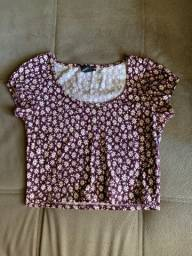 Cropped Florido Forever 21