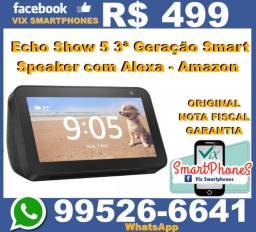 _#_#_#_ $$$cel$$$ Amazon smart speaker echo show 5 caixa lacrada /* 6250ktgbg#_#_#_#_
